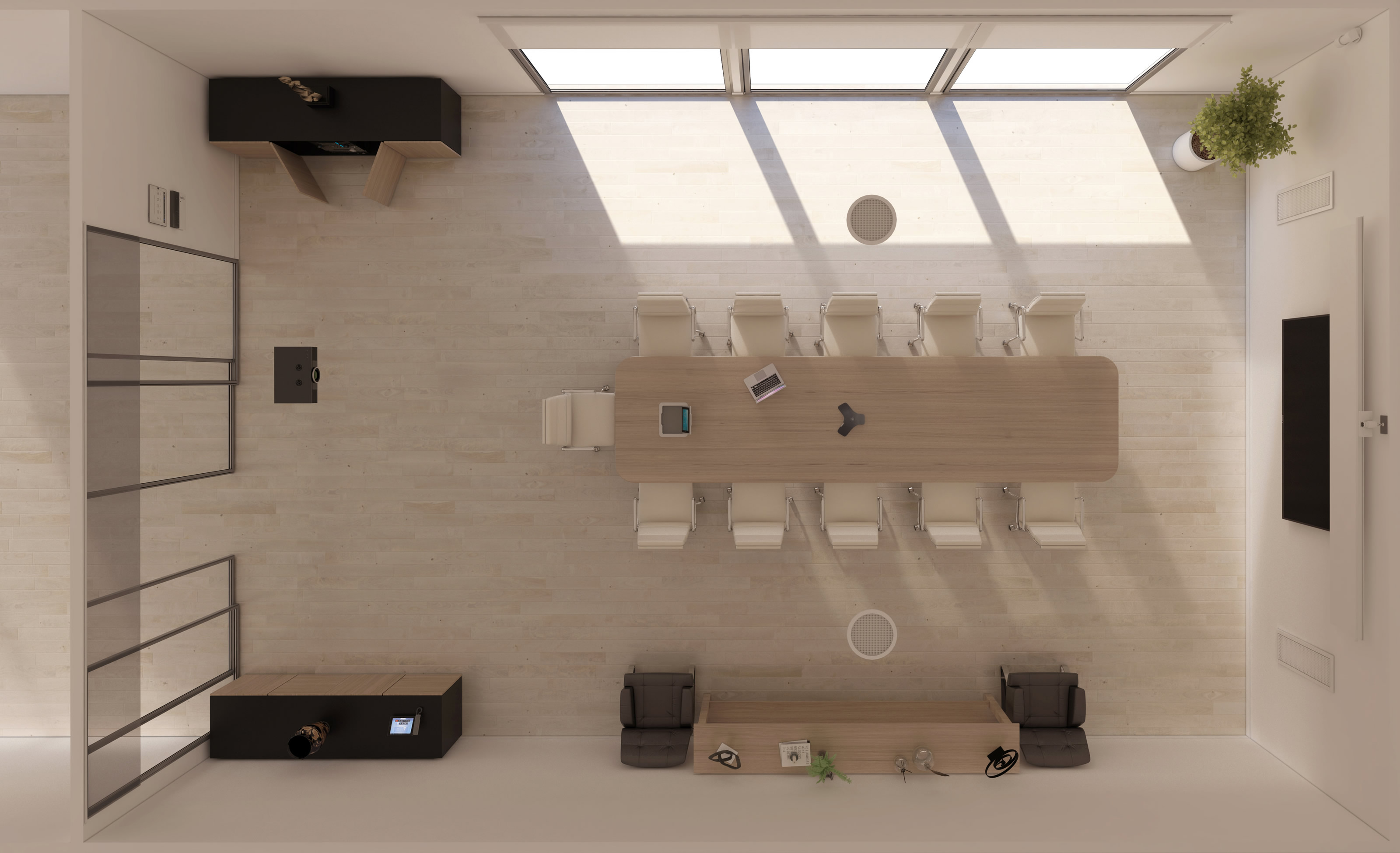 conference room plan view pk a