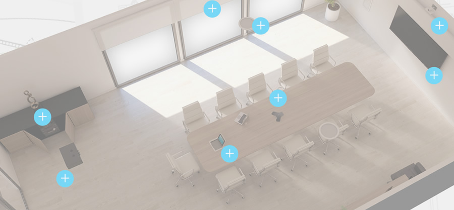Conference Room - Isometric